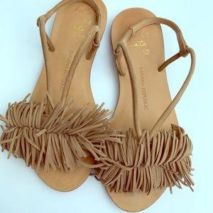 Banana Republic EUC mocha BR sz 6 Riley sandals